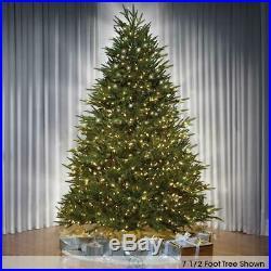 Hammacher Worlds Best Prelit Fraser Fir 7.5′ Slim LED Multi Color Christmas Tree