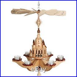 Hängepyramide Kurrende mit Frauenkirche HxLxB 47cmx38cmx38cm NEU Pyramide
