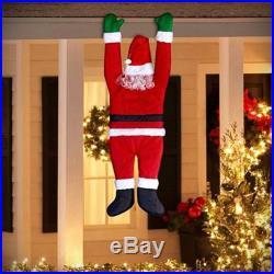 Hanging Santa Claus Outdoor Holiday Decor Figure Fun Winter Christmas Decoration