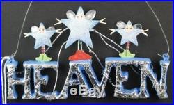 Heaven Word Christmas Krinkles Ornament Patience Brewster Department 56 796929
