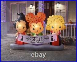Hocus Pocus inflatable Halloween lawn decor