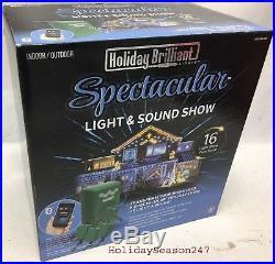 Holiday Brilliant Christmas Lightshow Light And Sound Show Via Bluetooth App