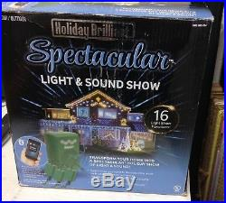 Holiday Brilliant Spectacular Light & Sound Show Christmas App bluetooth