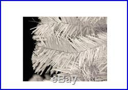Holiday Christmas Tree 6-Feet Crystal White