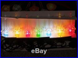 Holiday Living Bubble Light Set of 7 Christmas String Lights Multicolor Noma