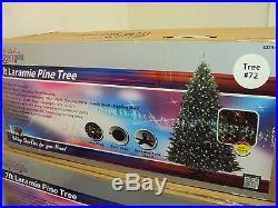 Holiday Showtime W14L0457 7′ Laramie Pine Dual Color 500 Pre-lit Christmas Tree