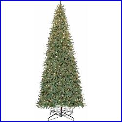 Holiday Time Pre-Lit 12′ Williams Pine Artificial Christmas Tree, Clear Lights