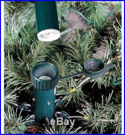 Holiday Time Pre Lit 7 5 Artificial Christmas Tree Clear