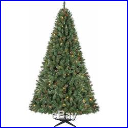 Holiday Time Pre-Lit 7.5′ Kennedy Fir Artificial Christmas Tree, Multi Lights