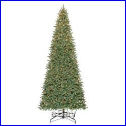 Holiday Time Pre-lit 12′ Williams Pine Artificial Christmas Tree, Clear DM