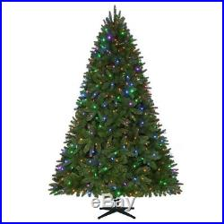 Home Accents Holiday 7.5′ Pre-Lit daul color LED Sierra Nevada Christmas Tree