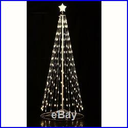 Homebrite 16′FT White LED Light Christmas Tree Remote 192 Indoor Outdoor 61508