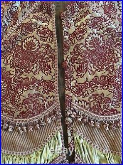 Horchow Velvet And Silk Christmas Tree Skirt