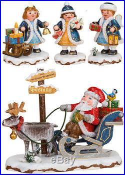 Hubrig 4x Neuheit 2017 Himmelskinder + Weihnachtsmann Winterkind Neu + Bonus