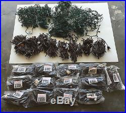 Huge Lot Of 1550 Led & Christmas Party Mini Lights Some New Some Used Once Offer