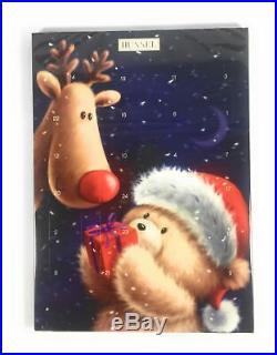 Hussel Adventskalender Rudi & Teddy Vollmilch 75 g Weihnachtskalender Schokolade
