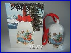 Hutschenreuther Weihnachtsglocke Porz. 1982 Küstenland (meine Art. Nr. 1982-2)