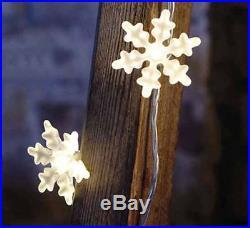 Ikea Holiday 12 Led Lighting Snowflake Decoration Amp String