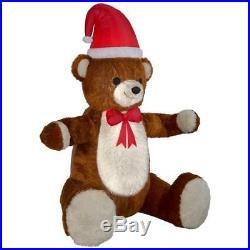 Inflatable Animated Hugging Plush Teddy Bear 7.51 ft Pre-lit LED Christmas Decor