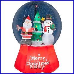 Inflatable Christmas Decoration Outdoor Snowman Santa Tree Decor Items Supplies