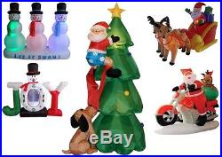 Inflatable Christmas Indoor Outdoor Yard Decorations Multiple Themes
