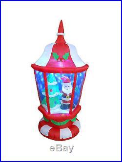 Inflatable Christmas Lamp Santa Tree LED Lights 2015 Yard New Outdoor Decoration