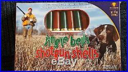 JINGLE BELLS SHOTGUN SHELLS STRING LIGHTS Hunters, Cabins, 10 LIGHTSNIB