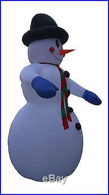 JUMBO 20 Foot Christmas Inflatable Snowman New Yard Outdoor Balloon Decoration