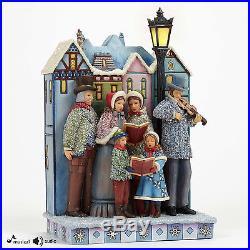 Jim Shore Christmas Musical Masterpiece Victorian Carolers Figurine 4047676