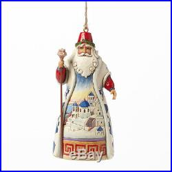 Jim Shore Greek Santa Christmas Ornament 4041112