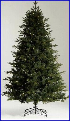 John Lewis & Partners Kensington Pre-lit Christmas Tree, 7ft