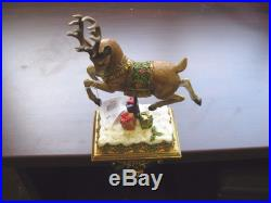 Joseph's Studio Victorian Inspirations Reindeer Christmas Stocking Holder New