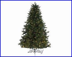 Kaemingk 7.5′ X 58 Pre-lit Everlands Skandia Fir Artificial Christmas Tree