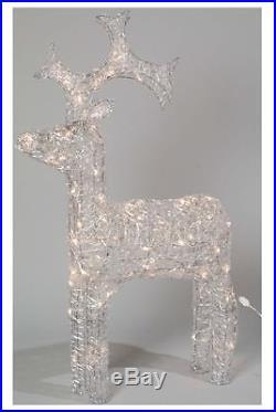 Kaemingk LED Outdoor Acrylic Reindeer 120cm Warm White