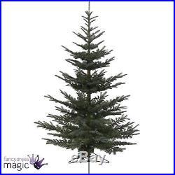 Kaemingk Nobilis Fir Green Artificial Xmas Home Christmas Tree Decoration 2.1m