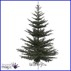 Kaemingk Nobilis Fir Green Artificial Xmas Home Christmas Tree Decoration 2.4m