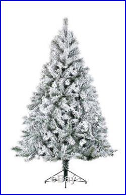 Kaemingk Snowy Toronto Pine Christmas Tree 210cm/2.1m/7ft FREE P&P
