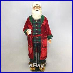 Katherine's Collection 2020 Toyland Santa In Pj's Life Size Doll