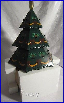 Kirkland Holiday Advent Calendar Large Wooden Christmas Tree New in Box