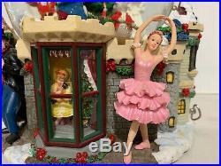 Kirkland Large Christmas Light Up Musical Snow Globe Nutcracker Sugar Plum Fairy