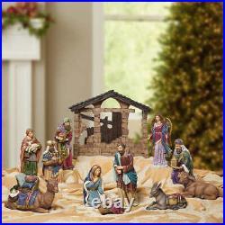 Kirkland Signature Table Top Christmas 13 Piece Nativity Set