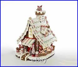 Kurt Adler Gingerbread Lighted House