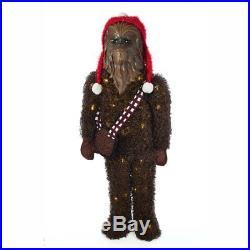 Kurt S. Adler 36 in. Star Wars Chewbacca Tinsel Lawn Decor