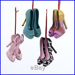 Kurt S Adler Shoe Ornaments 3 out of the 4 are available