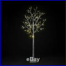 LED Birch Twig Tree White Brown Pre-lit Christmas Xmas Lights Outdoor Indoor