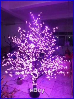 LED Cherry Blossom Tree Light Christmas Tree Light 1,024pcs LEDs 6ft Purple IP65