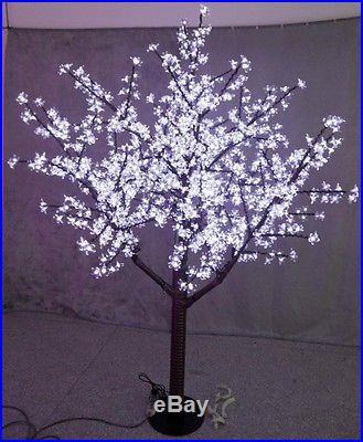 LED Christmas Light Cherry Tree 5FT Height Waterproof 480pcs LEDs White Color