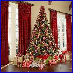 LED Lights Members Mark 9 Ft Bristle Fir Christmas Full Body Tree Tall