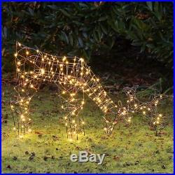 LED Outdoor Reindeer Christmas Decoration Micro Wire Indoor Home Garden