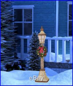 Led Street Lamp Indoor Outdoor Glitter Gold Christmas Lamp